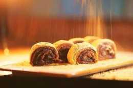 """""""驢打滾""""—北京特色小吃,光看著就眼饞,不用烤箱!在家就能做"""