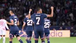 大巴黎球員評分: 姆巴佩失點獲7.4分, 梅西雙響全場最高!