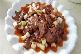 下飯家常小菜,魚香豬肝和炒涼粉,簡單好做,營養豐富,老少皆宜