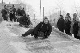東北小孩冬天真會玩,滿滿的回憶,這叫儀式感