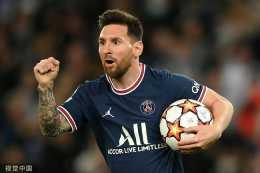 歐冠-梅西兩球 姆巴佩破門+造點 巴黎3-2逆轉