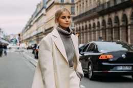 衣品好的女人,秋季穿闊腿褲時都不應搭這3件上衣,太拉低氣質